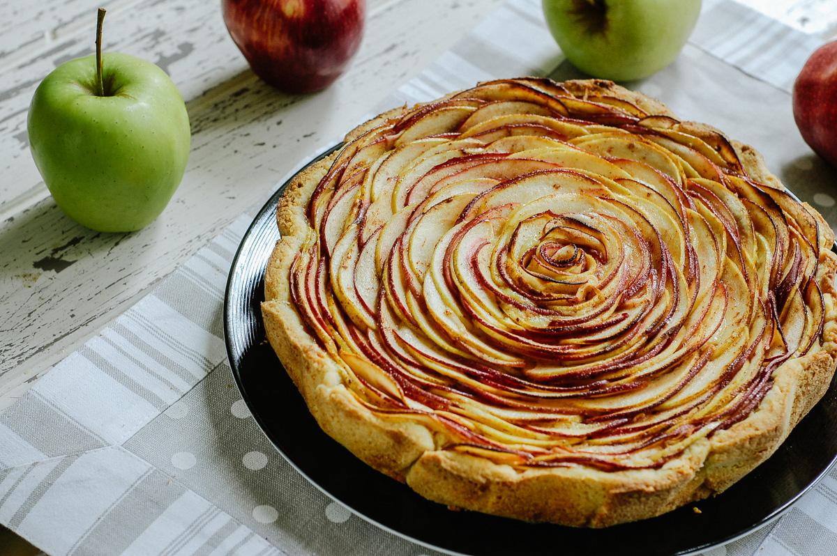 Crostata di mele briciole in cucina for Crostata di mele